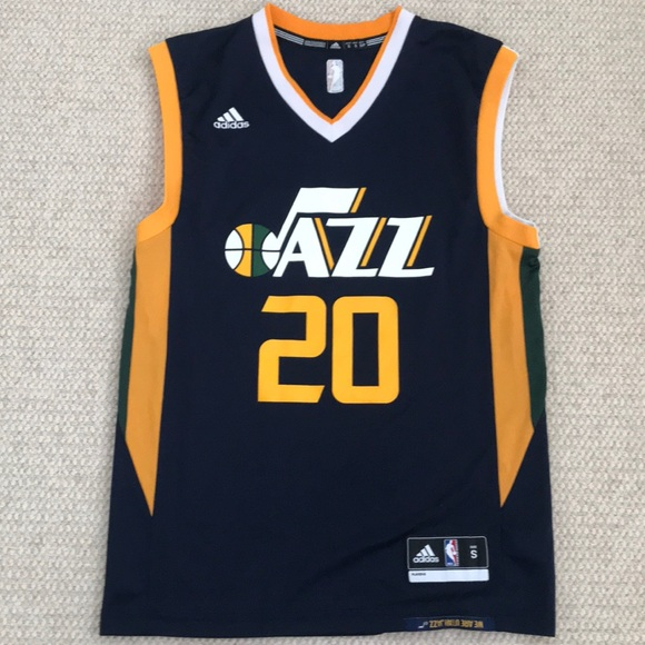 online retailer e3c33 744f8 Gordon Hayward Utah Jazz jersey